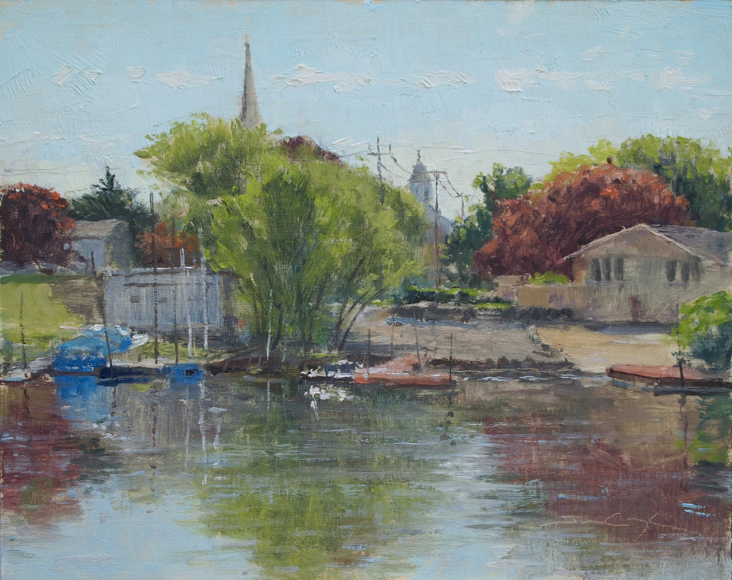 Spring Backwater