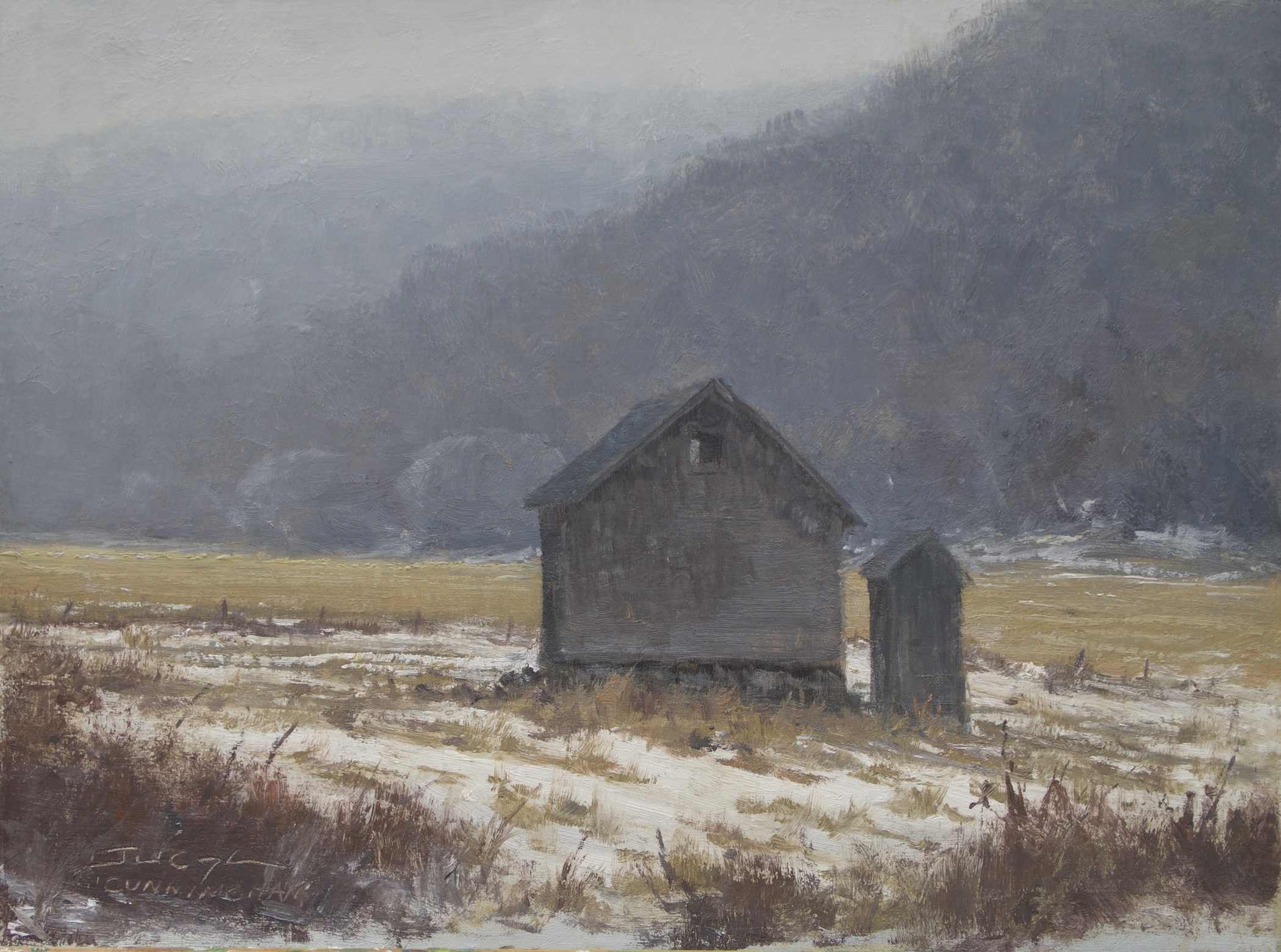 SOLD - Frost and Fog