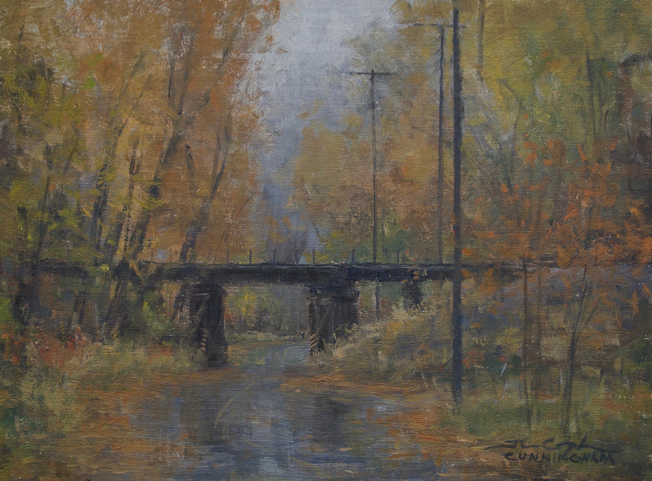 SOLD - Autumn Trestle