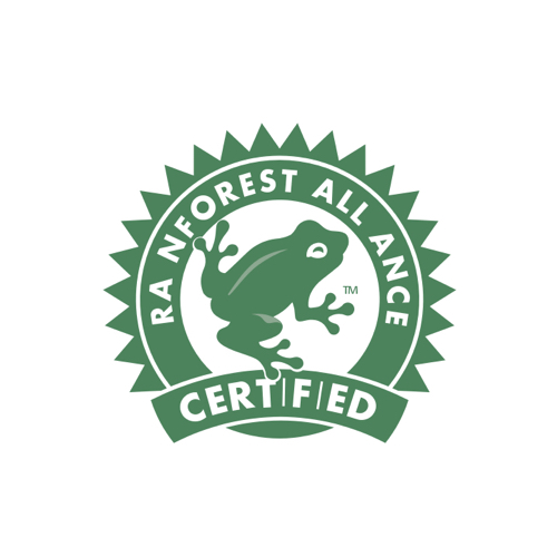 Rainforest Alliance certification indicates that a farm, forest, or tourism enterprise has been audited to meet standards that require environmental, social, and economic sustainability.