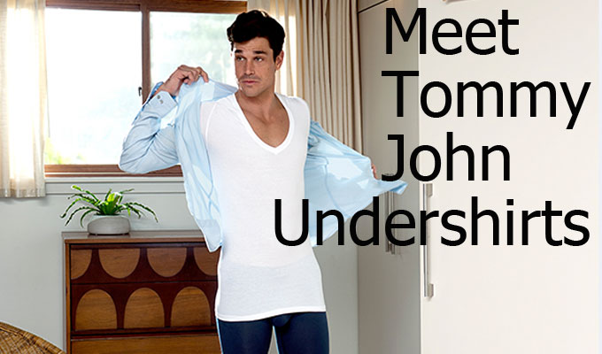 perfect men's undershirt
