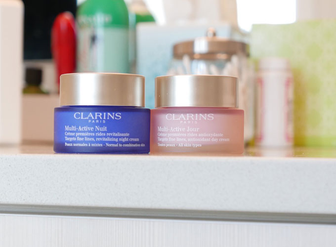Clarins-Multi-Active-day-and-night-creams