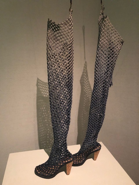 boots made from used fishing nets