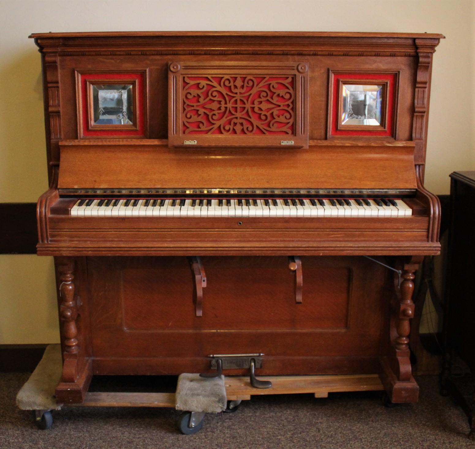 Geisendorfer Hotel Organ - 2001-104-001