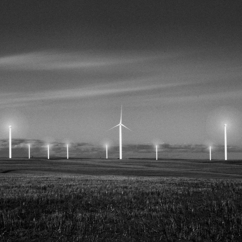 Windmills, Wasco County #3, Apr 2017