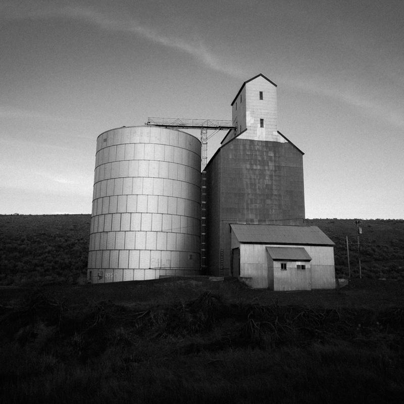 Grain Elevator, Wasco County #4, Apr 2017
