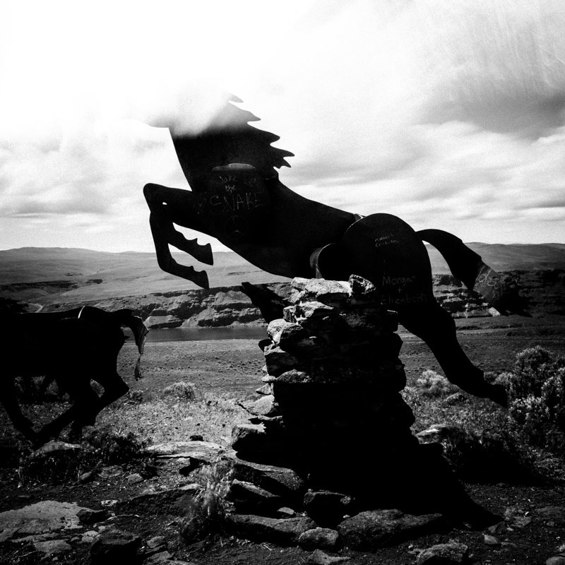 Wild Horses Monument ~1, May 2017