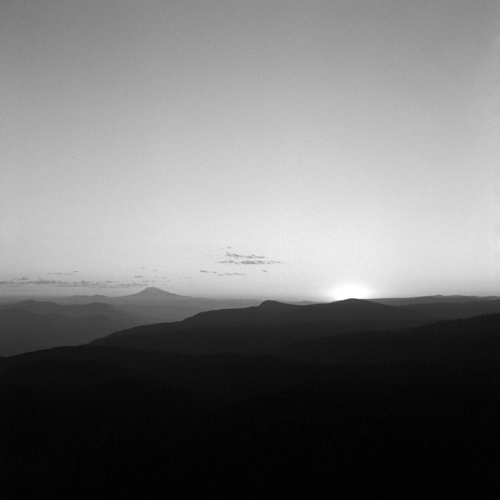 Sunrise, Mt Adams and Columbia Gorge, Sherrard Point, Jul 2017