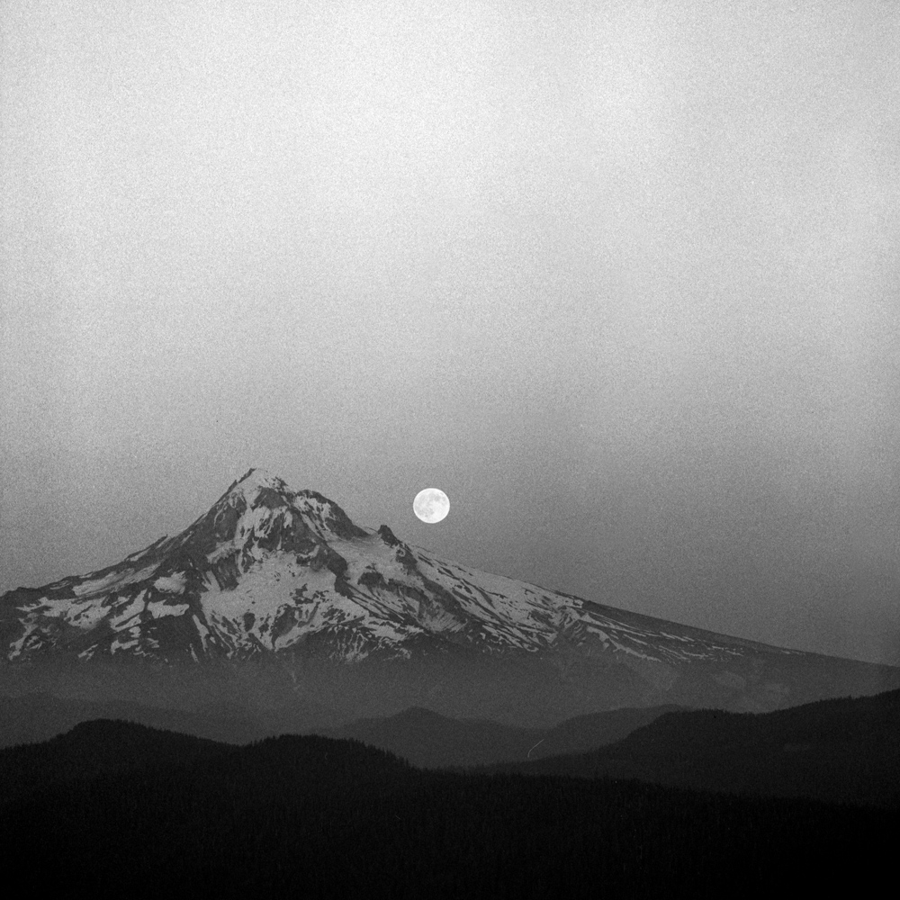 Moonrise, Sherrard Point, Jul 2017