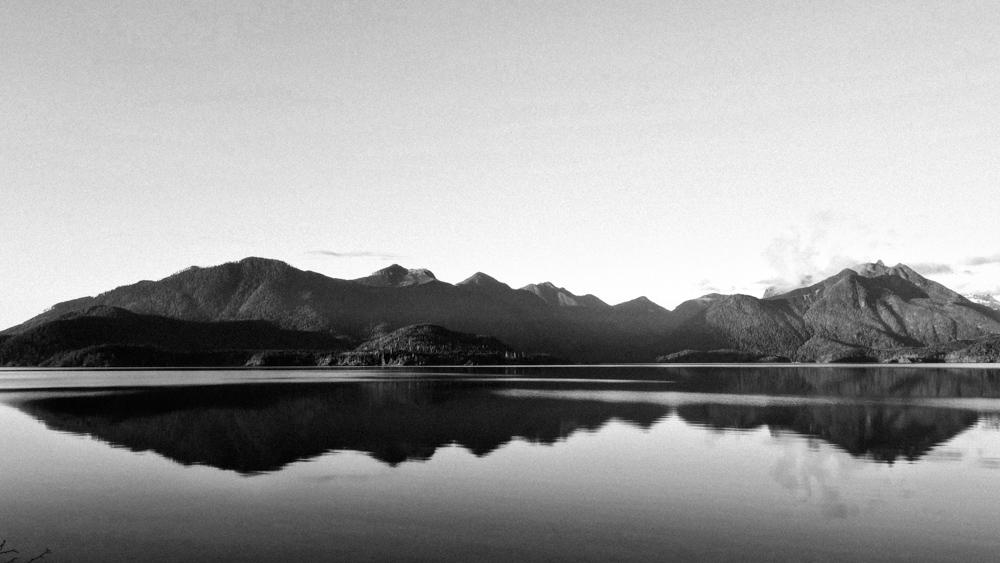 Kennedy Lake, Vancouver Island, BC, Dec 2014