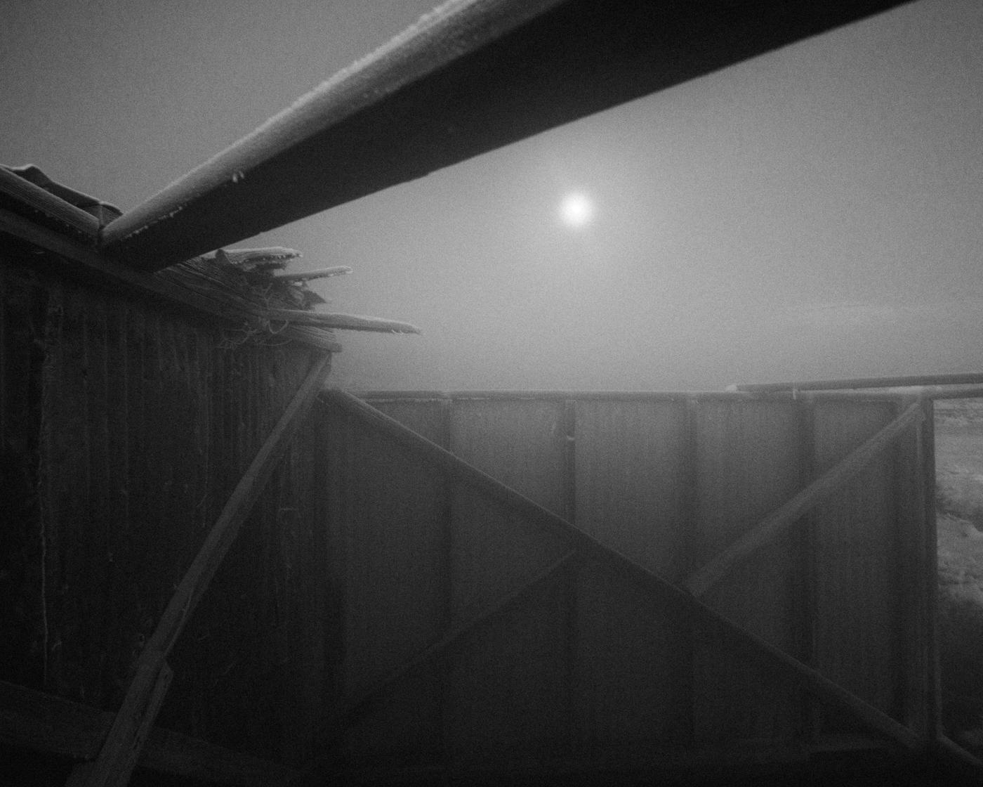 Moon from Hot Springs, November 2015