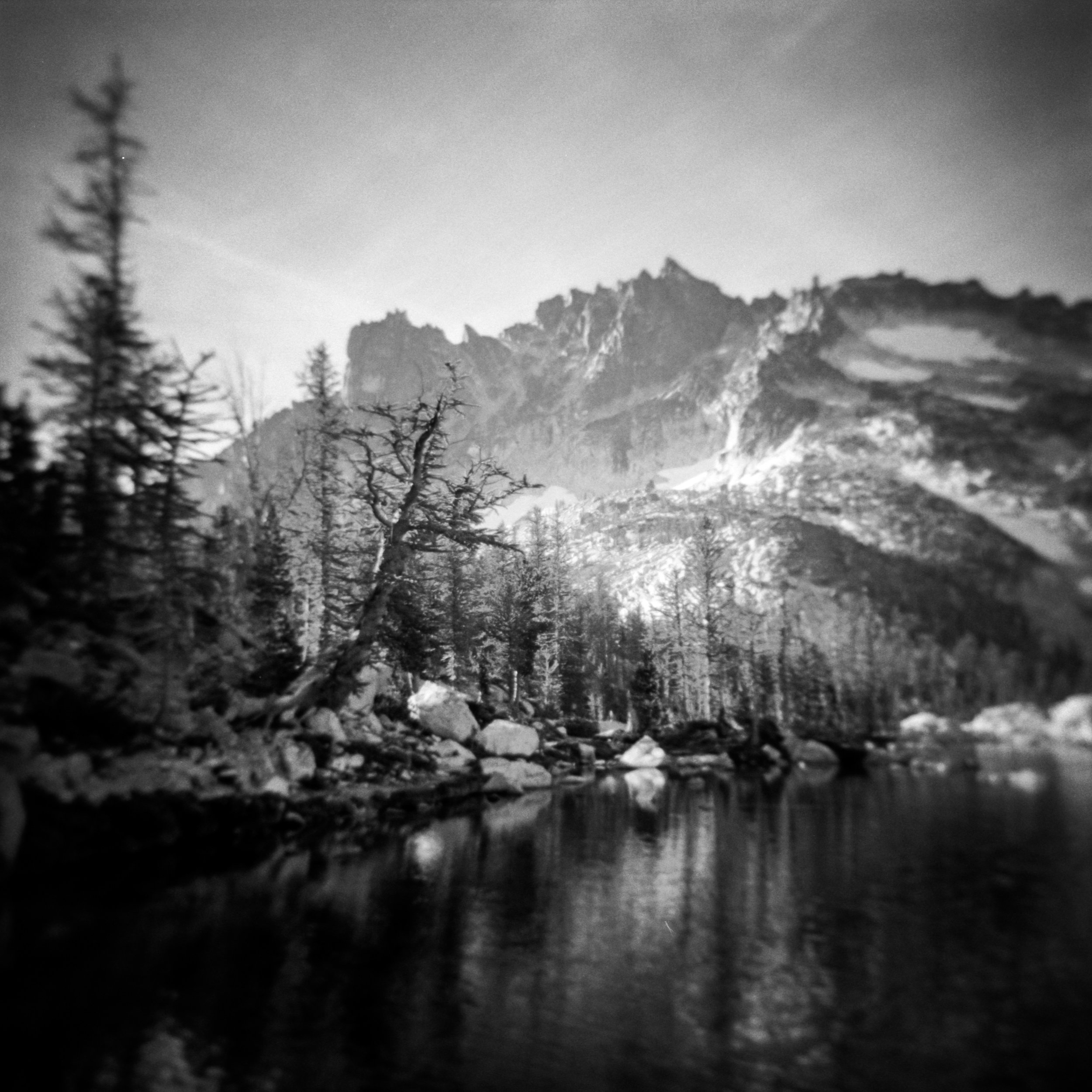 Leprechaun Lake, Alpine Lakes Wilderness, 2017