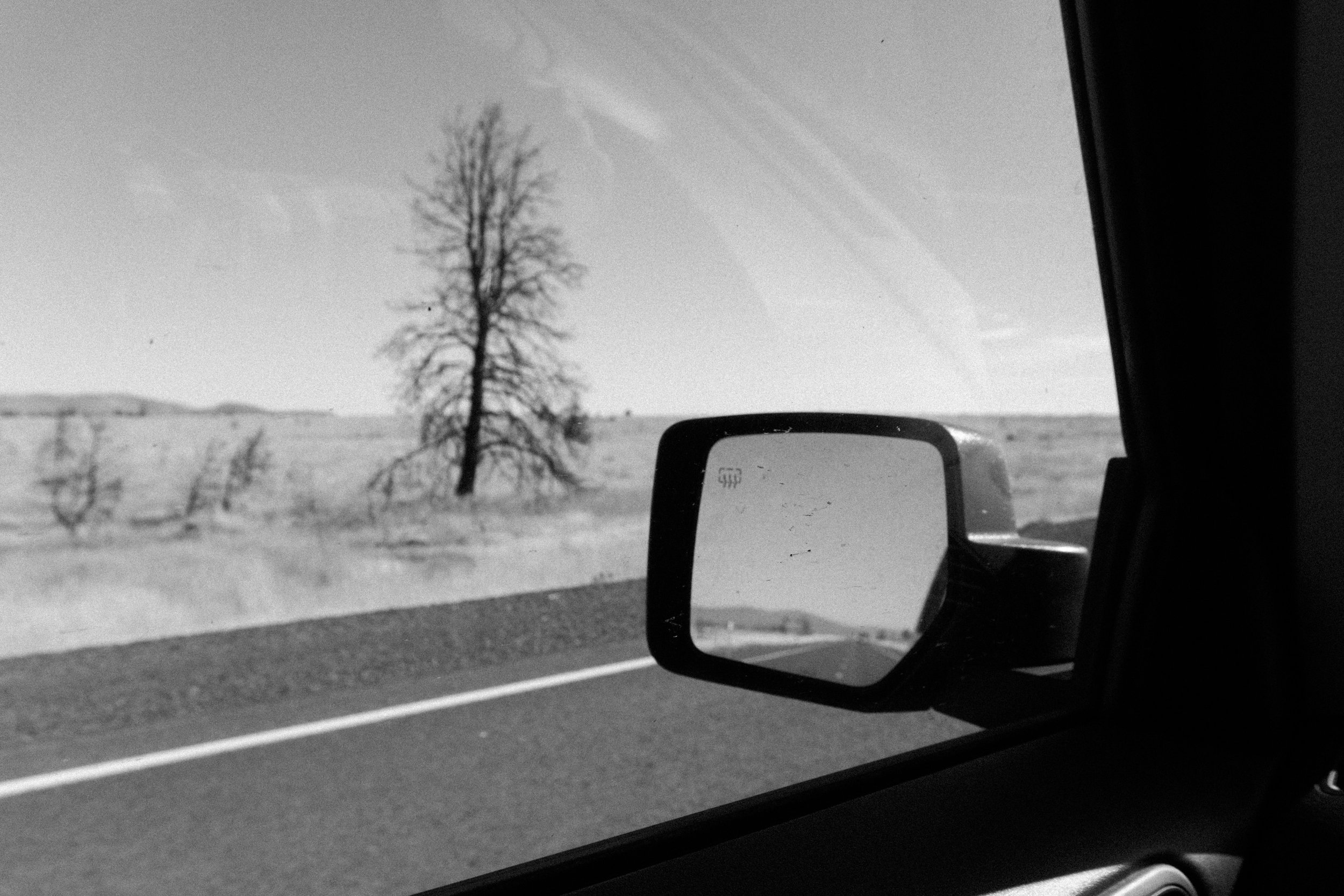 Drive through the High Desert