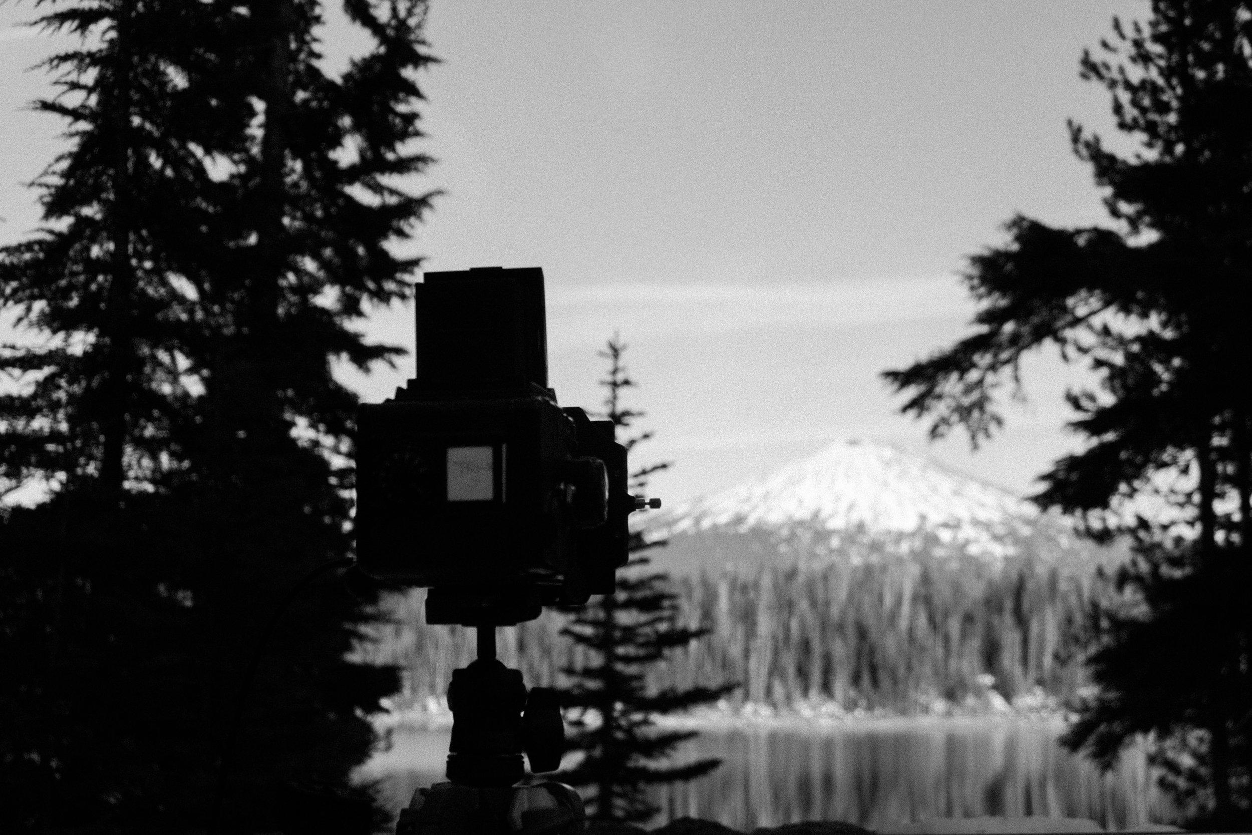 Elk Lake and Mt Bachelor