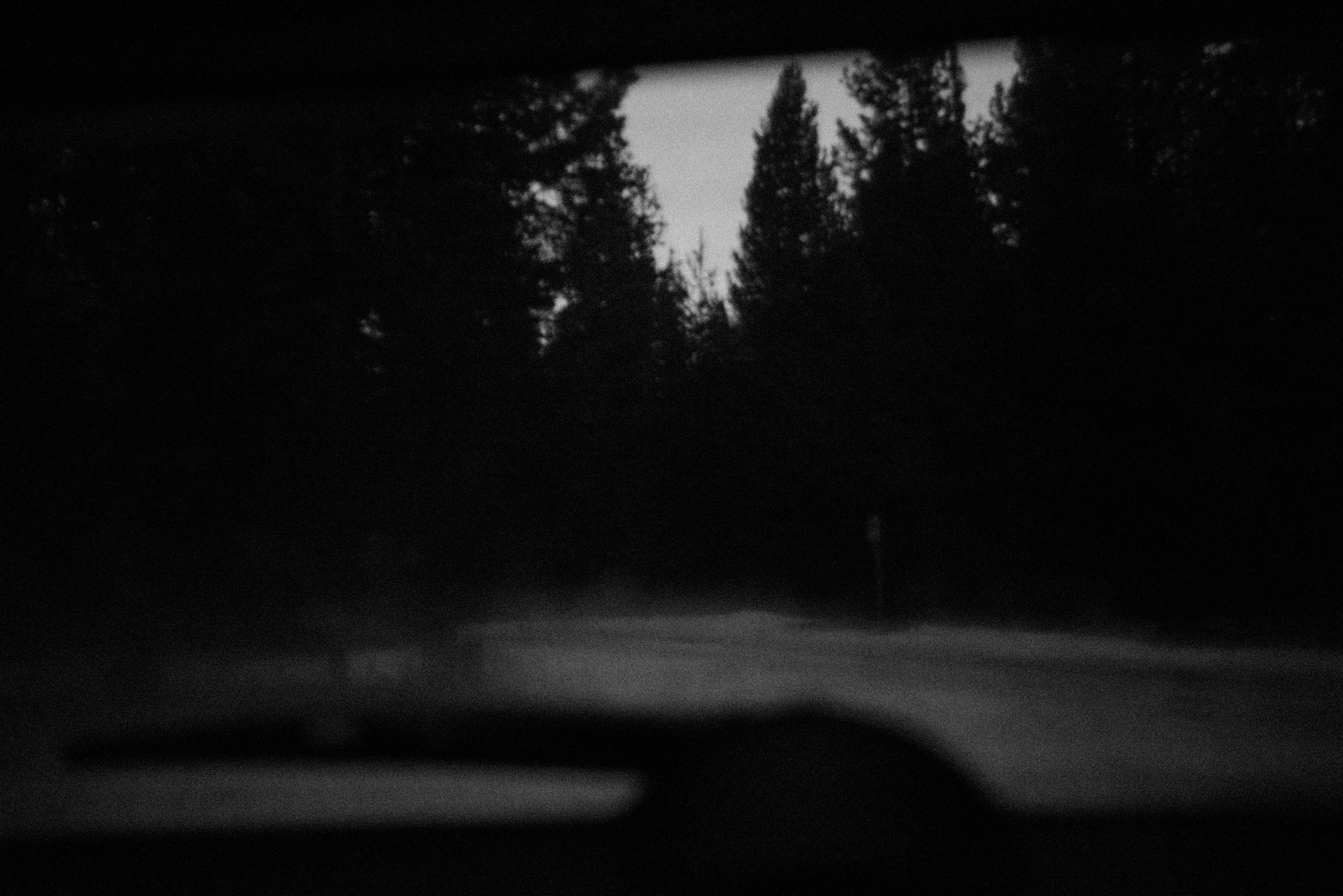 View from the car, 6am
