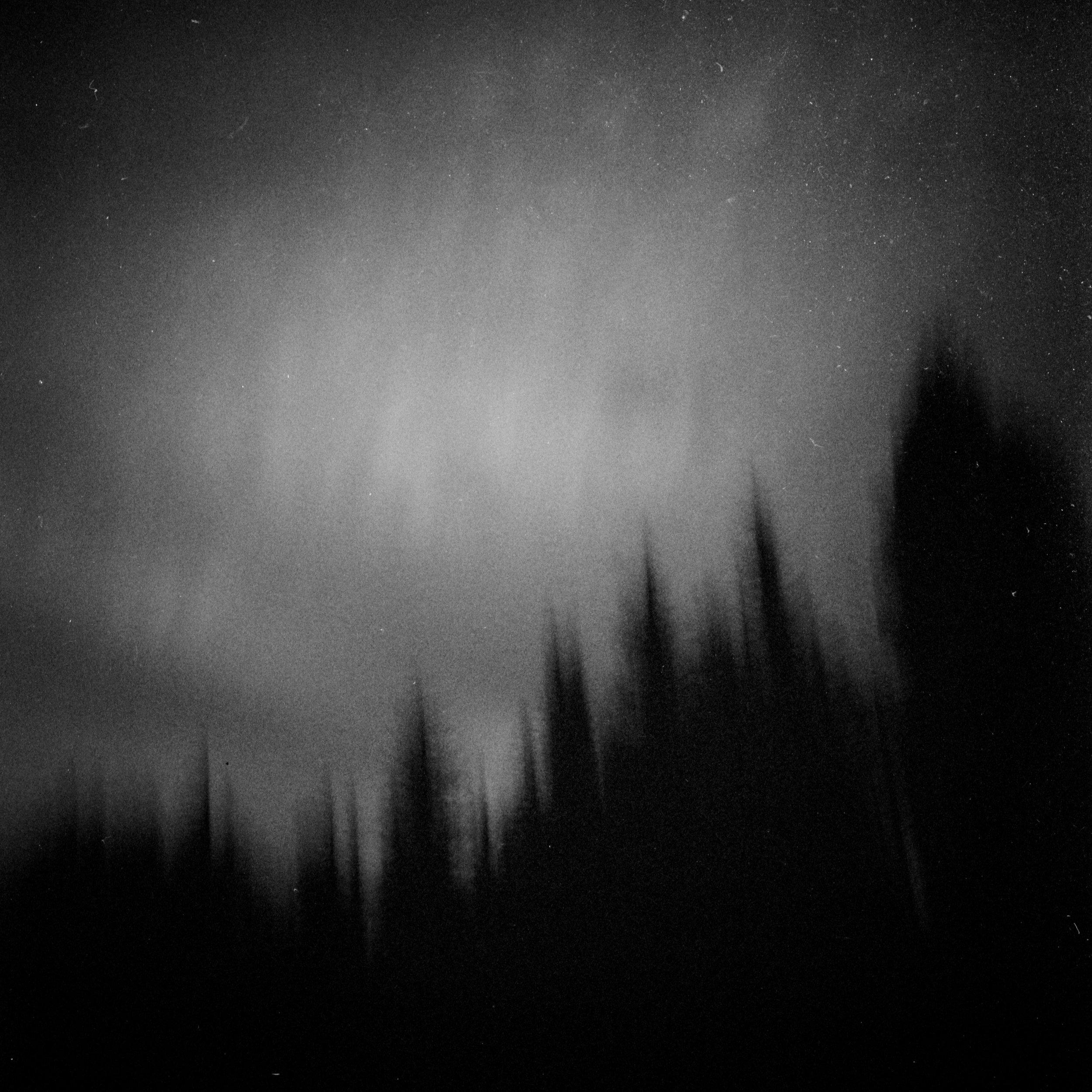 Dark at night, Three Sisters Wilderness, September 2017