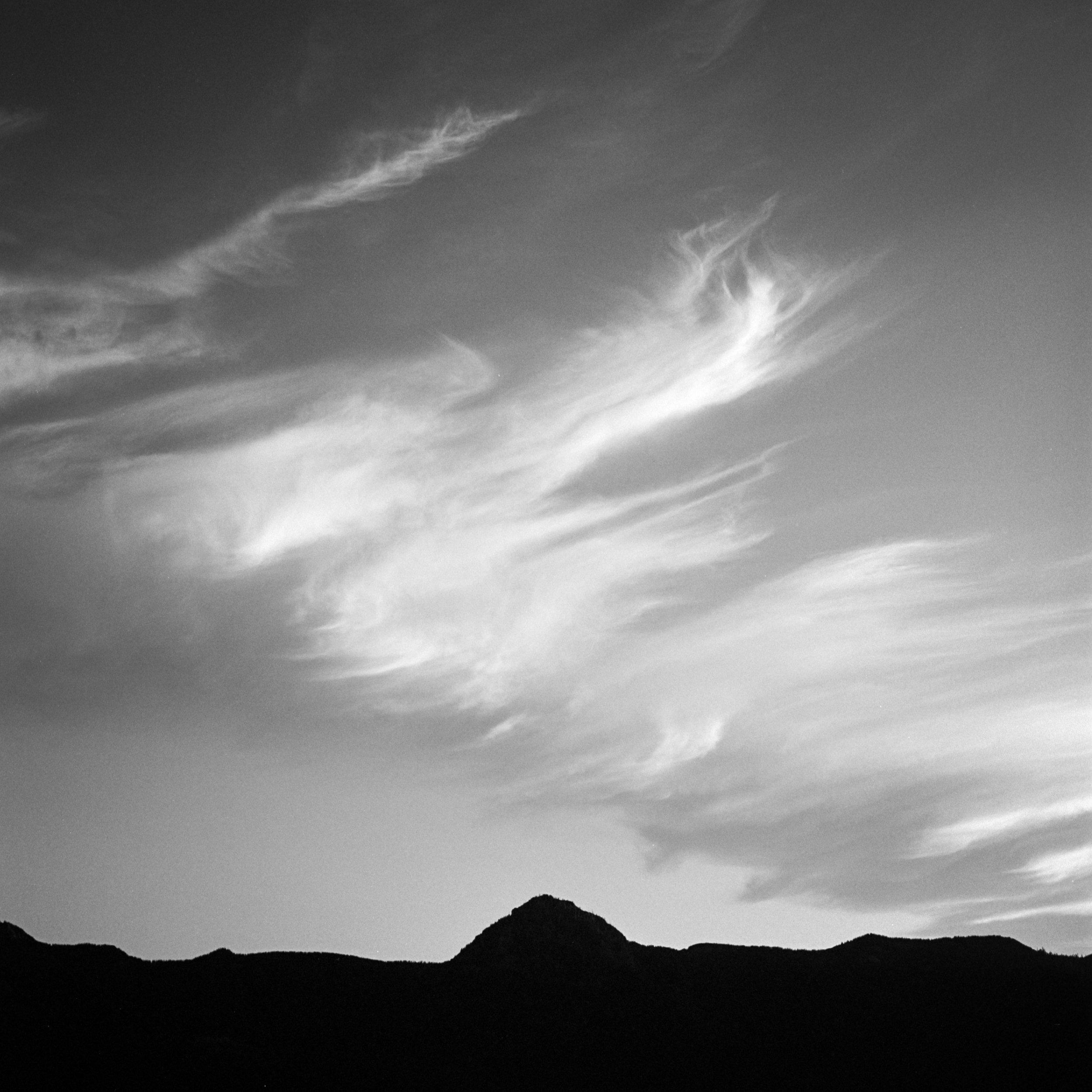 Clouds, Mt St Helens, September 2017