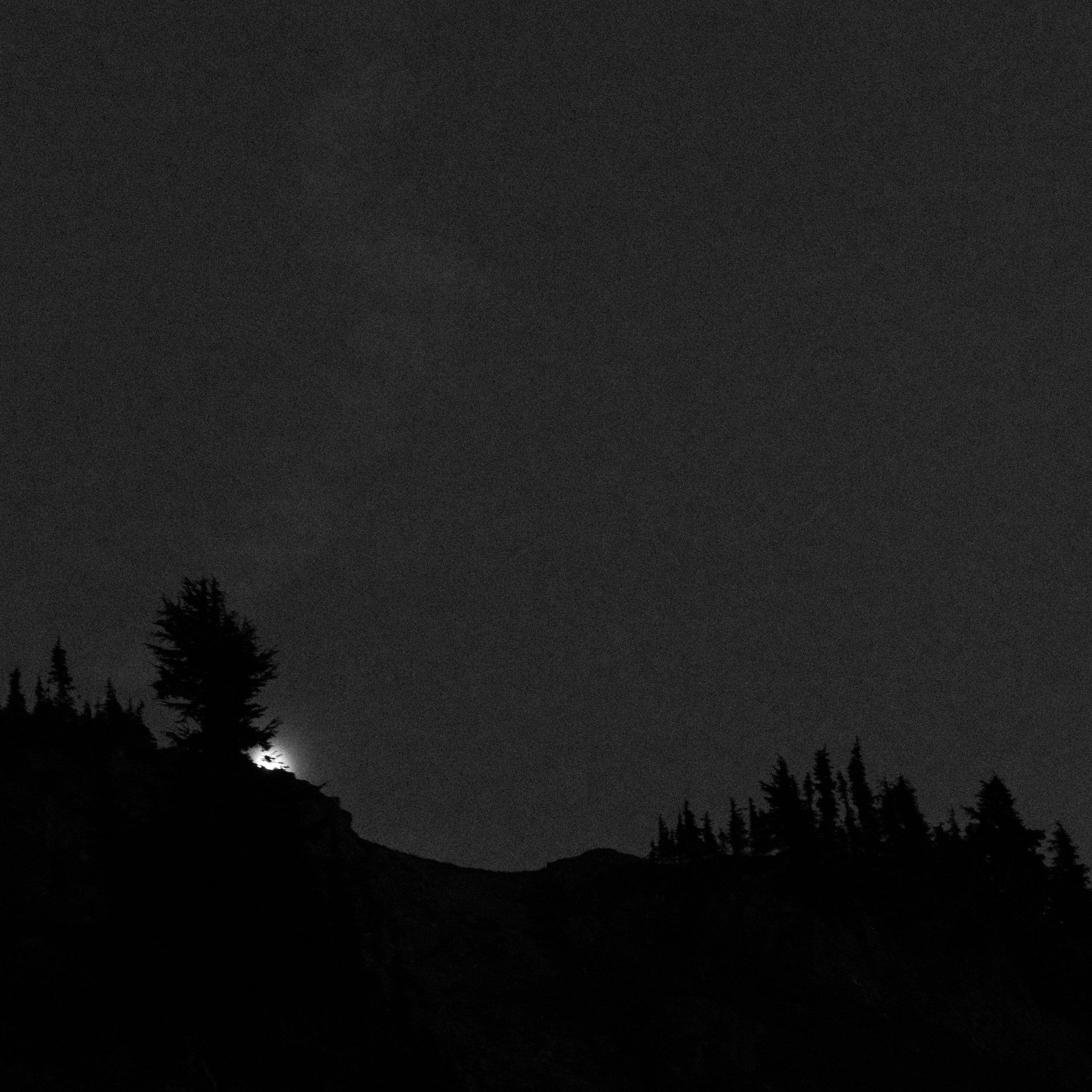 Moonrise, Goat Rocks Wilderness, August 2016