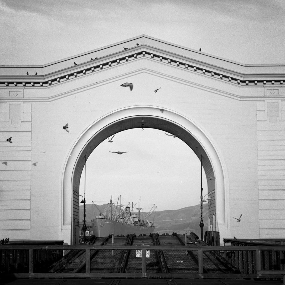 Pier 43 Ferry Arch, November 2017