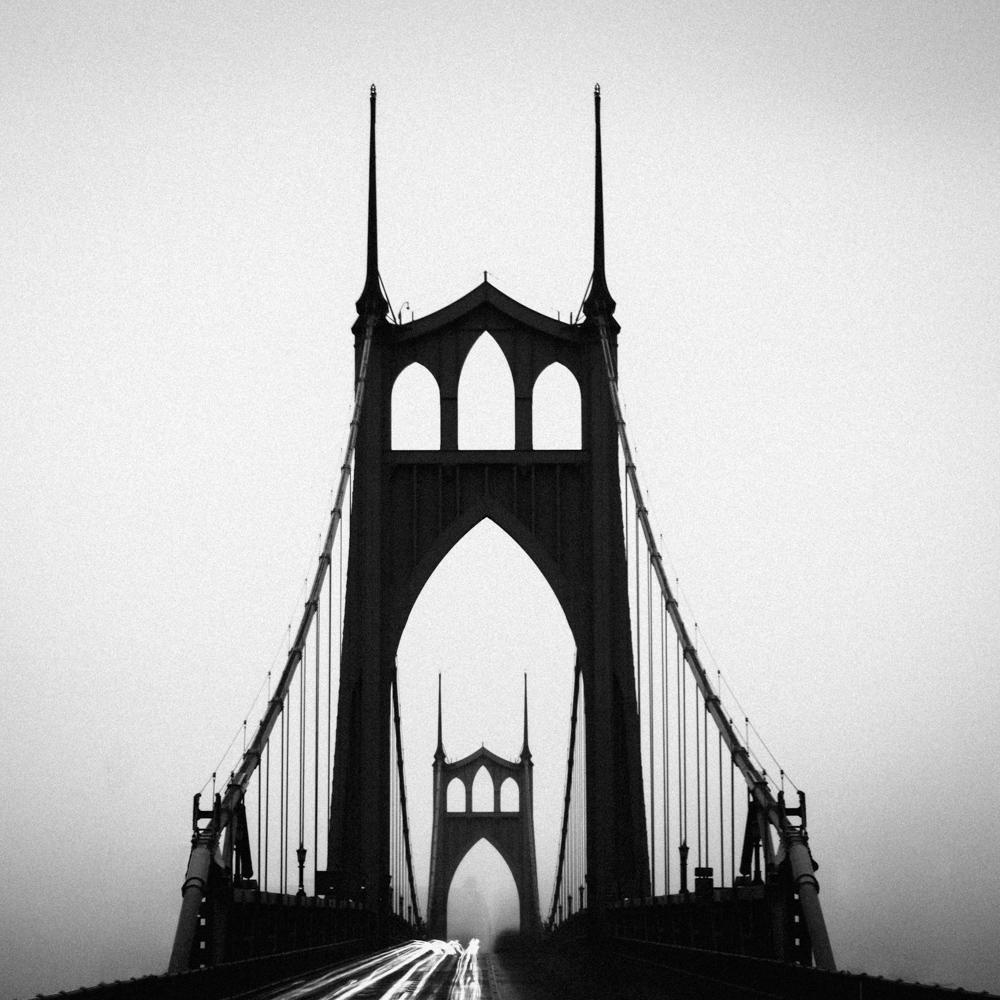 St John's Bridge, Portland, OR, May 2017