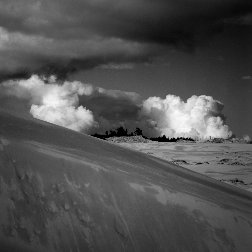 Cloud over the Oregon Dunes, November 2017