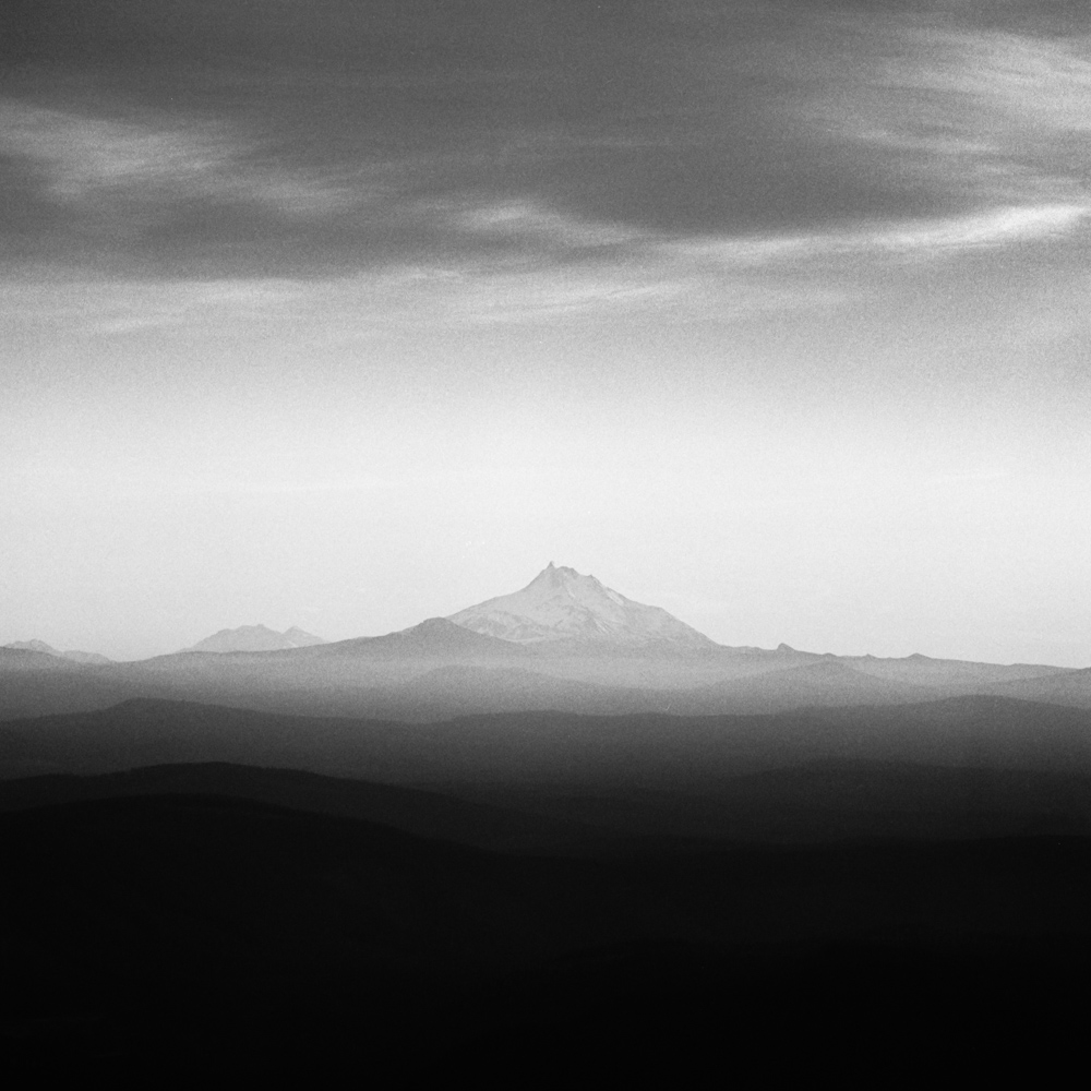 Mt Jefferson as seen from Mt Hood, October 2017