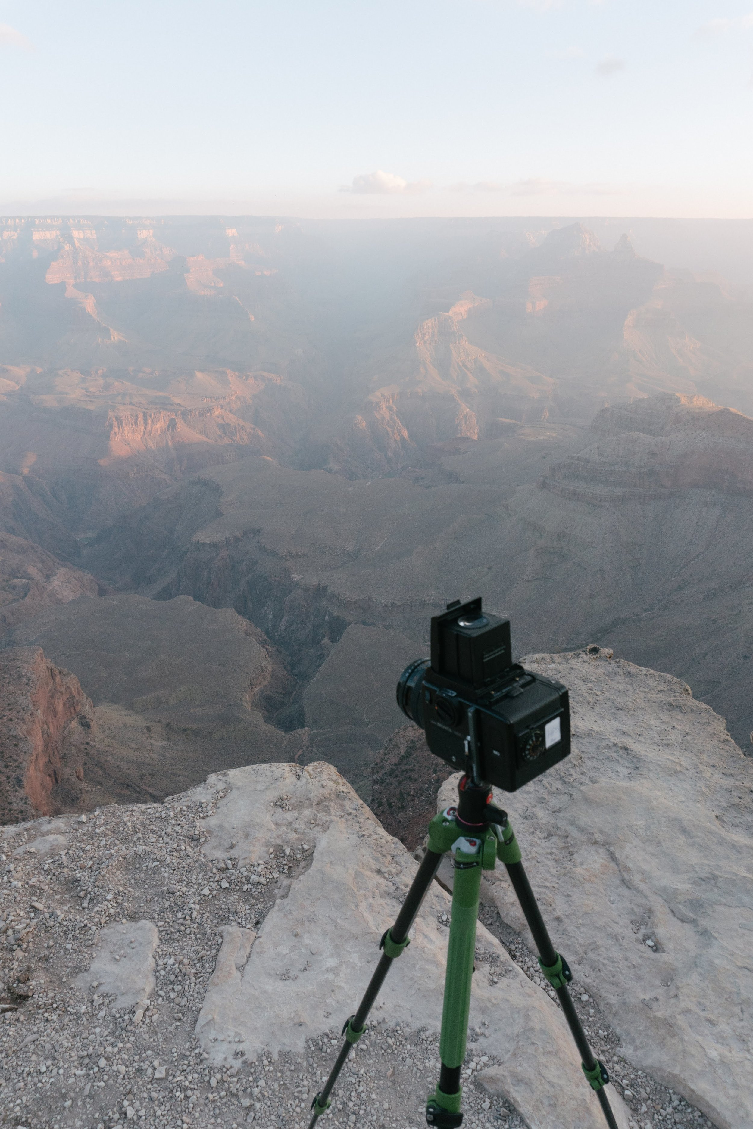 Incredible view and incredible camera. Only a warm coffee could've improved that morning.