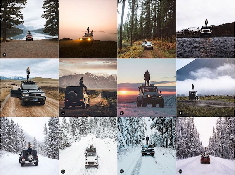 Screenshot of  Insta_Repeat : if your photographs look like these, then you might have to worry a bit more.