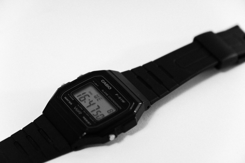 It measures time and you'll look much cooler. Win-win.