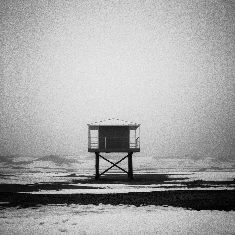 Lifeguard Tower, Michigan City, February 2018