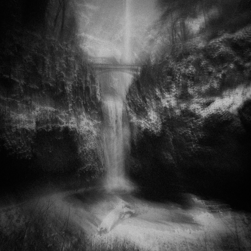 Multnomah Falls, December 2016