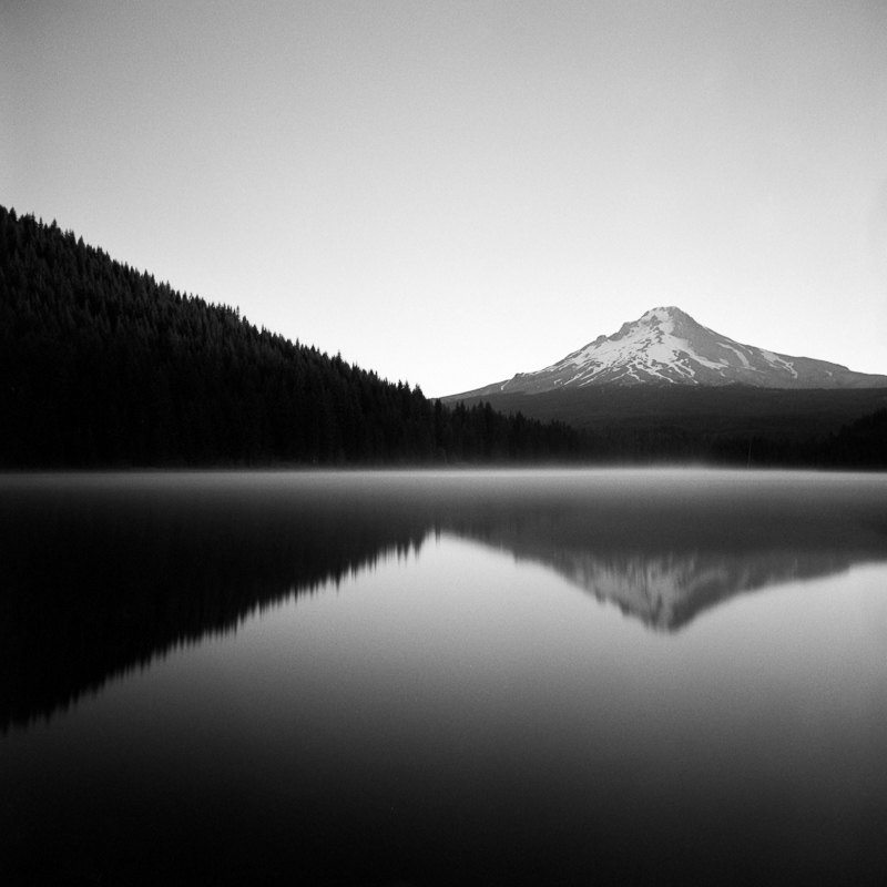 Trillium Lake, Mt Hood National Forest, Oregon.