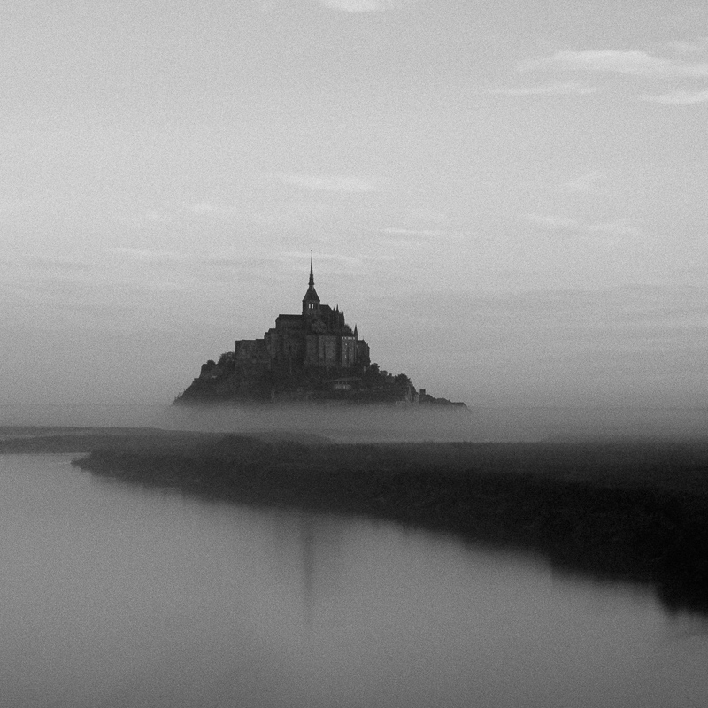 Mont-Saint-Michel, Normandy, October 2018