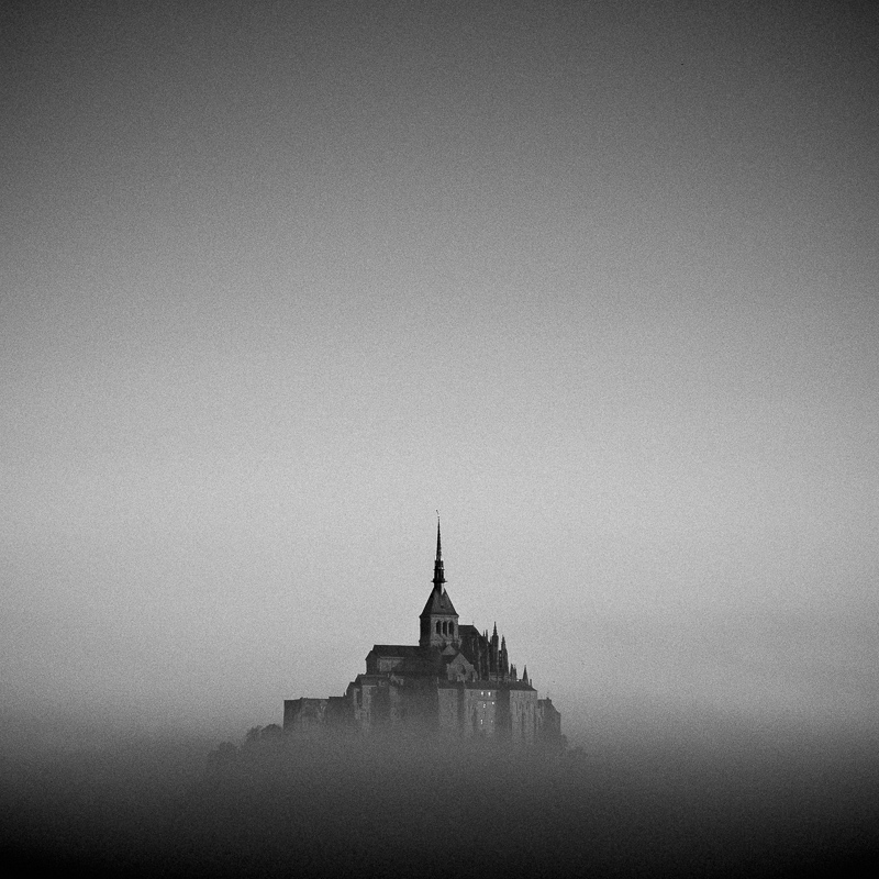 Mount Saint-Michel, Normandy, October 2018