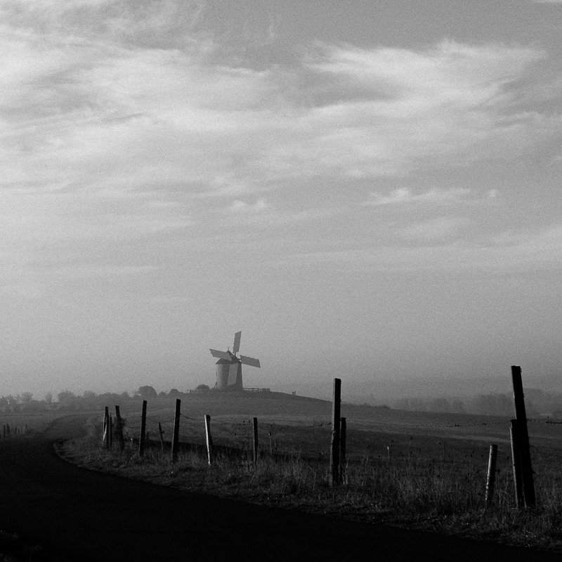 Windmill, Normandy, October 2018