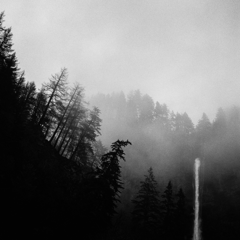 Multnomah Falls, Oregon - February 2018