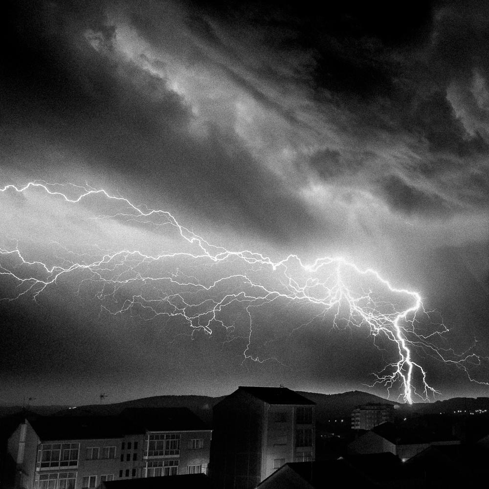 Lightning, Monforte de Lemos, August 2018