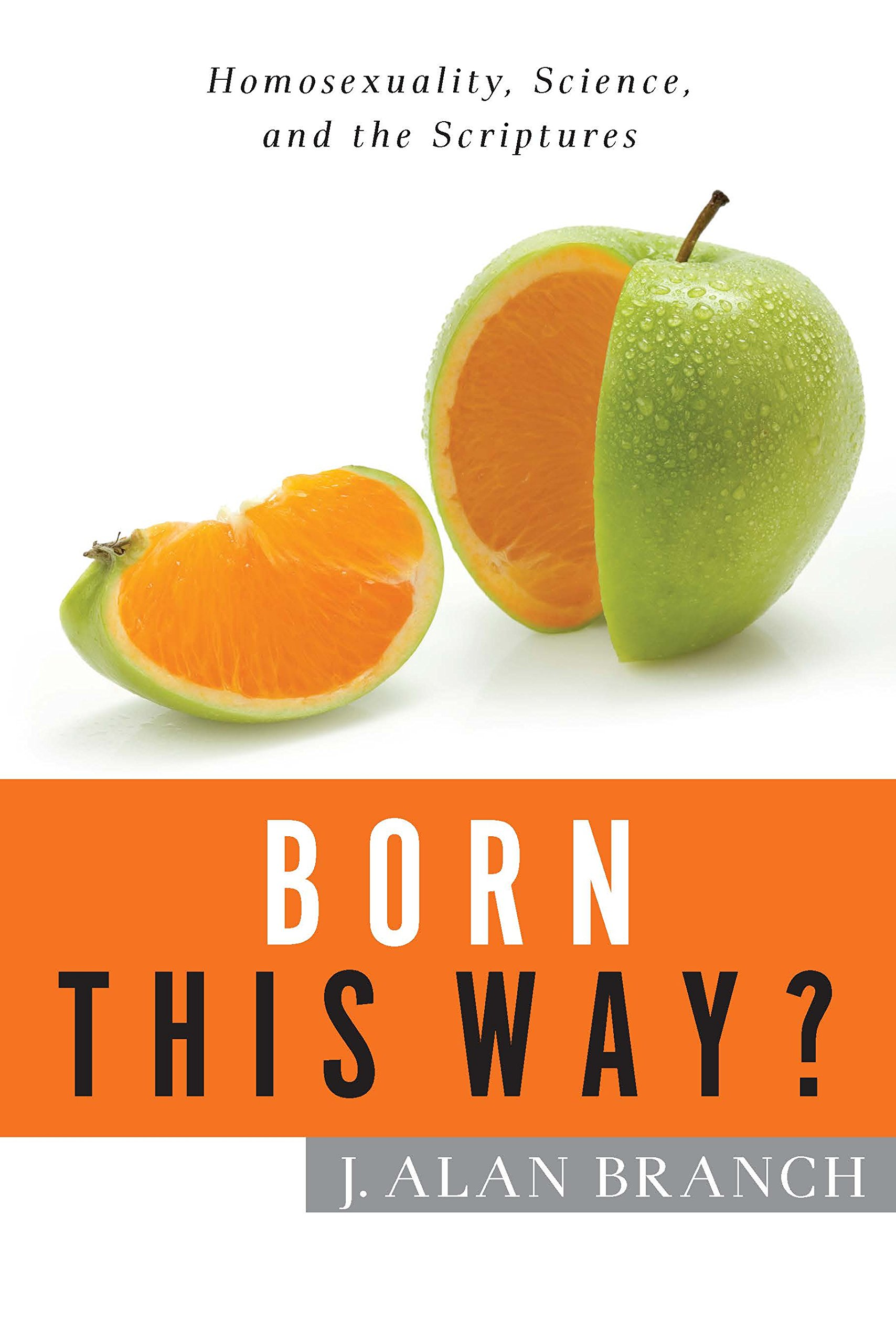 """Born This Way? - What are Christians to make of relentless assertions that homosexuality is an innate characteristic? Some pastors and church members are suggesting that scientific research demands a change to the historic stance of Christian sexual ethics.Alan Branch is the author of Born This Way? He wants Christians not to be intimidated and confused by these assertions. Branch succeeds by carefully walking the reader through the research (but not painstakingly so) to show that homosexuality is not an innate quality, and how some findings are twisted to arrive at pre-conceived notions. He concludes that, """"while there are some genetic or biological factors that correlate with a higher incidence of same-sex attraction and homosexual behavior, as of yet there is no proof of genetic or biological causation for homosexuality."""" This distinction is vital, and it comes as good news to those who want to be faithful to both science and the Bible."""