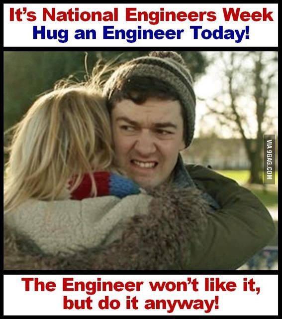 Hug an Engineer