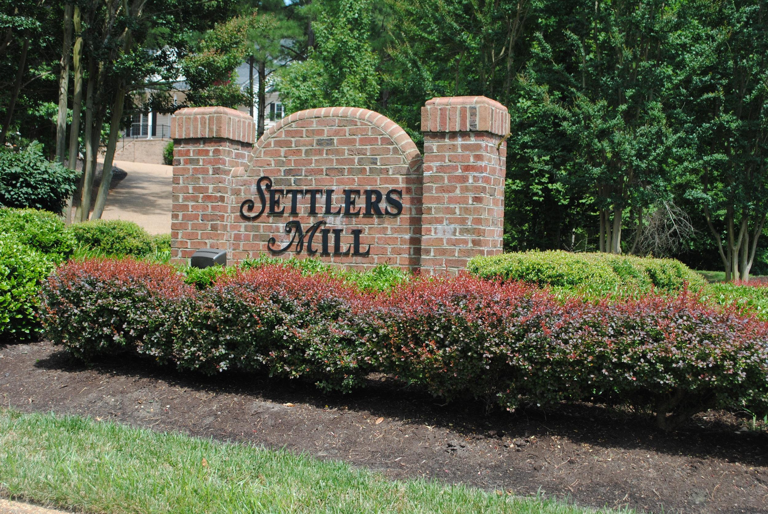 Settler's Mill -