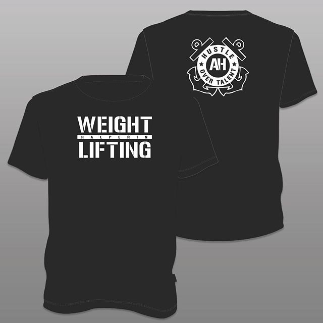 Logo and t-shirt design created for @zerotoamy and her upcoming Olympic Lifting Nationals Competition #CoastGuard . . . #logodesign #tshirtdesign #graphicdesign #logo #customtee #graphic
