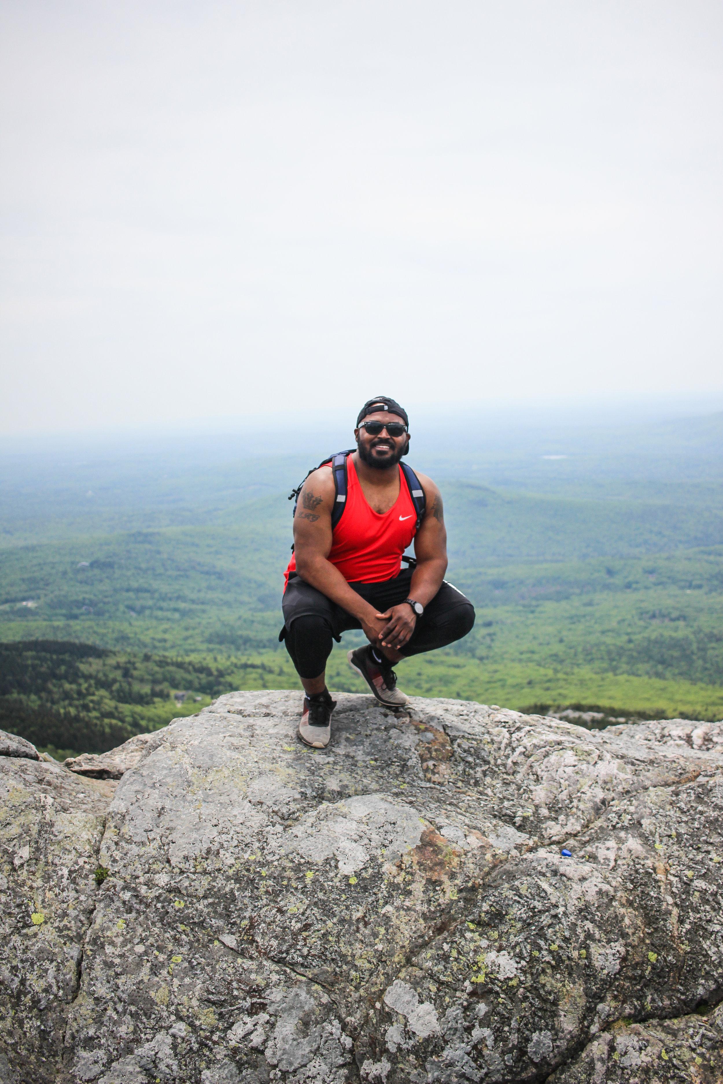 The summit of Mount Monadnock