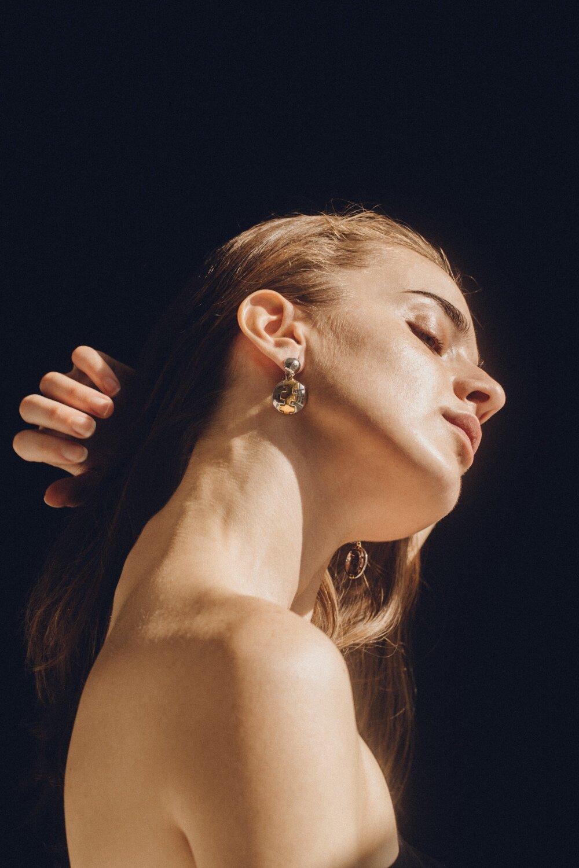 rolo bowl earring