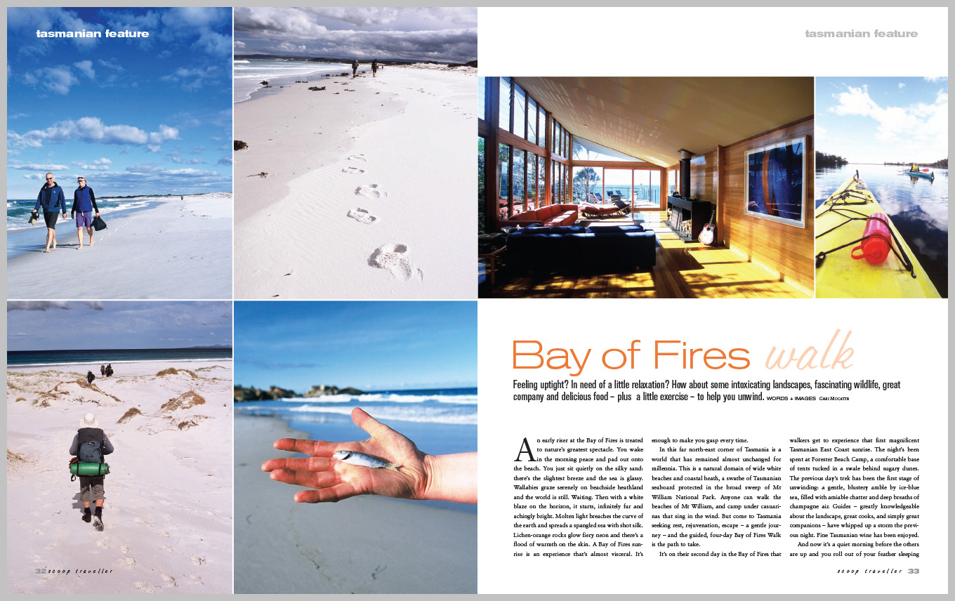 Scoop Traveller – Bay of Fires