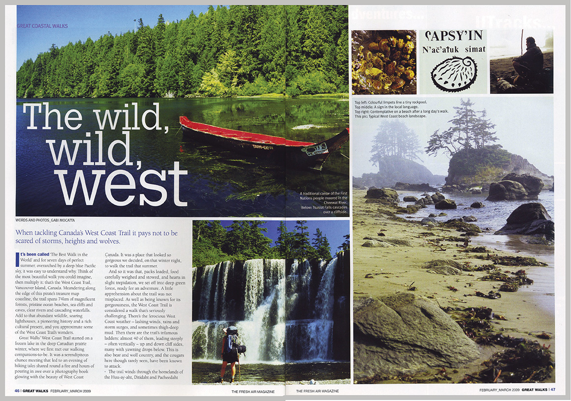 Great Walks Magazine – The Wild, Wild, West