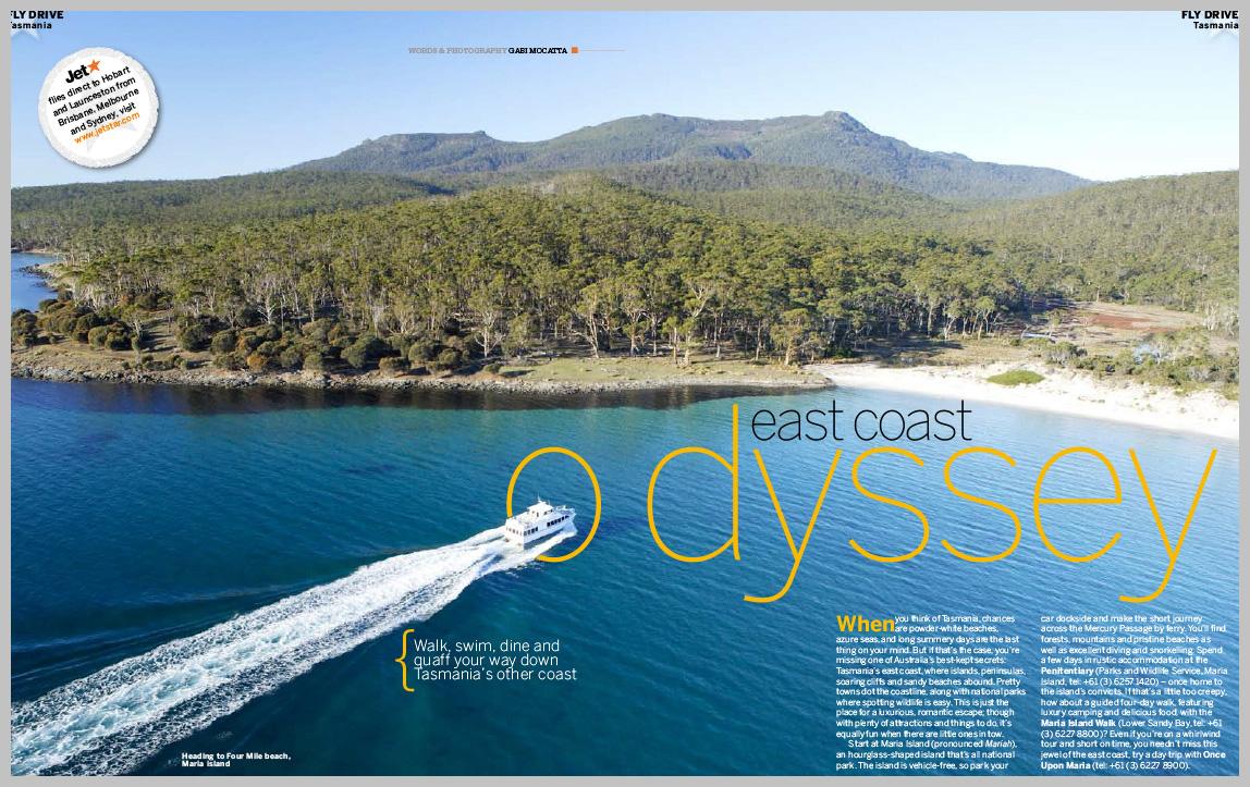 Jetstar Magazine – East Coast Odyssey