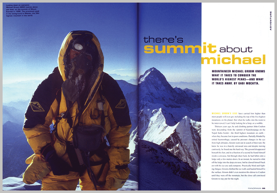 Panorama Magazine – There's summit about Michael
