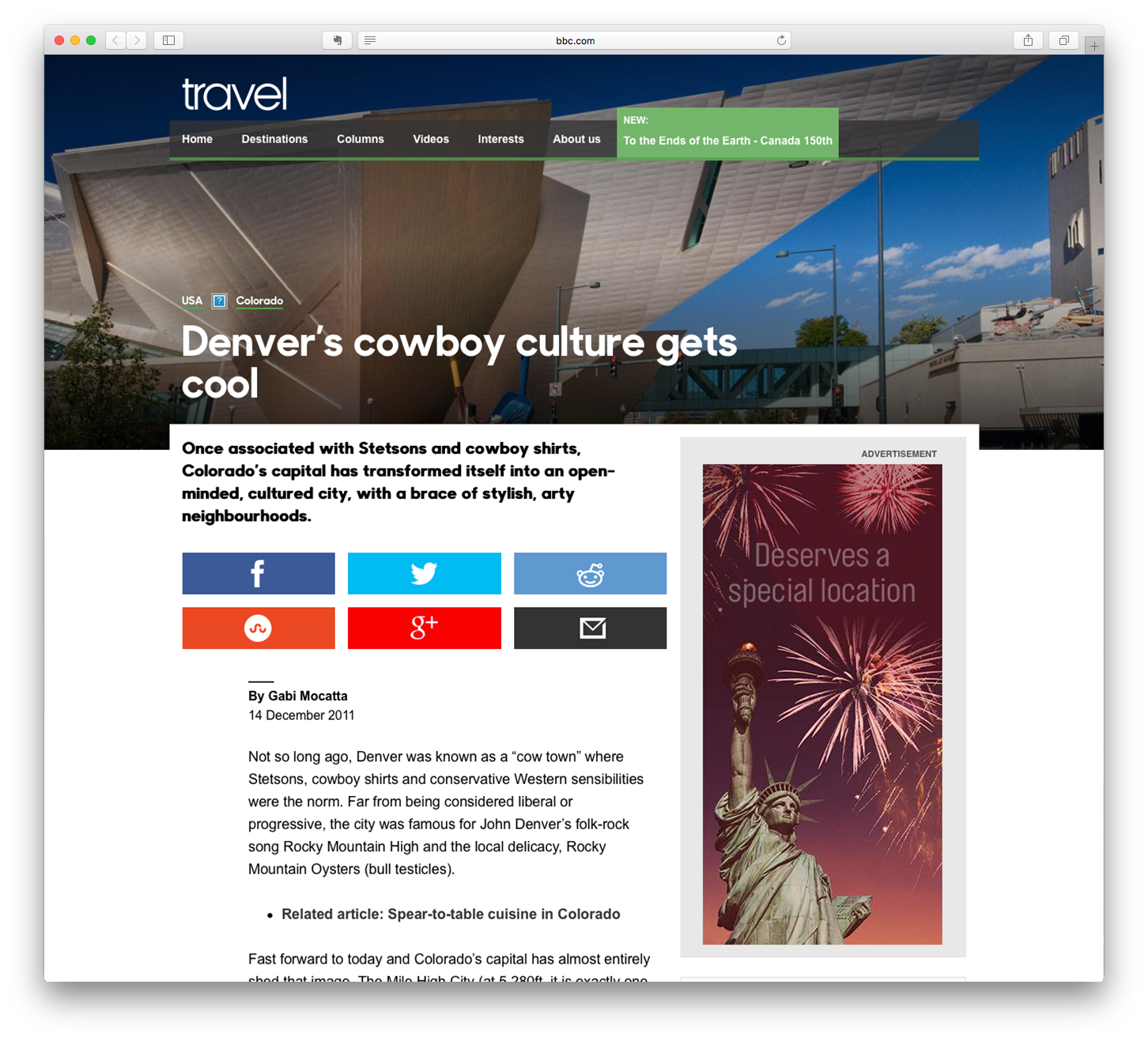 Denver's cowboy culture gets cool