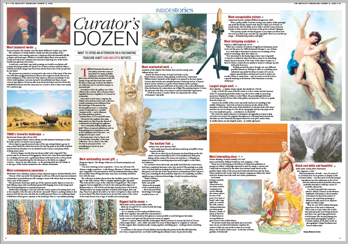 The Mercury Magazine — Curator's Dozen