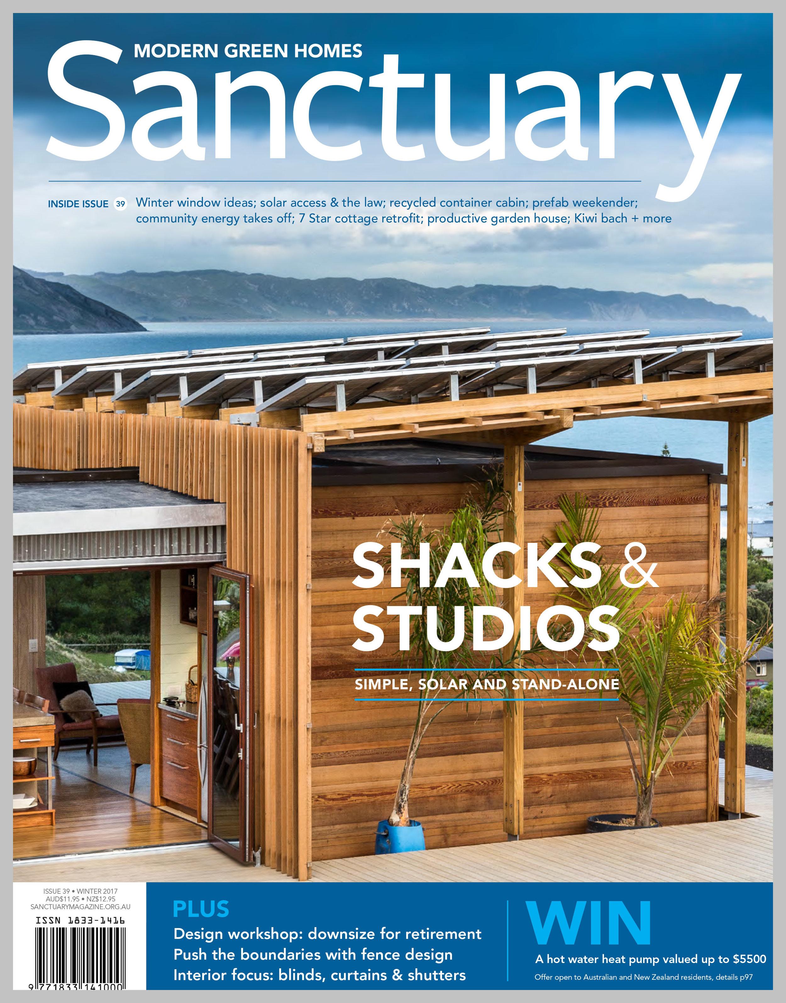 Sanctuary Magazine — Embracing the Shack